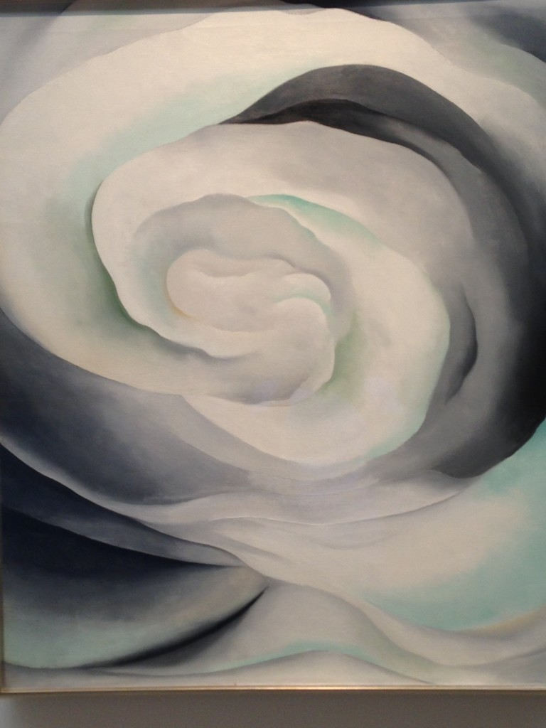 Georgia O'Keefe Painting